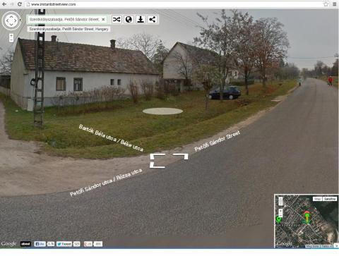 Google Instant Street View